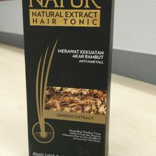 Natur Hair Tonic ginseng 125 ml
