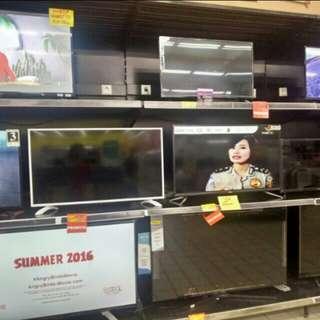 LED TV berbagai merk bisa di cicil proses 3 menit aja free 1x angsuran