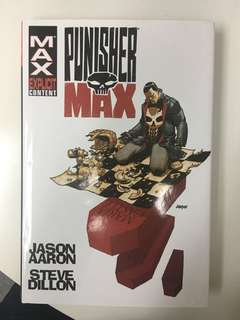 Punisher Max Omnibus by Jason Aaron & Steve Dillion collecting #1 to #22 plus Punisher Max X-Mas Special #1 - Read Only Once
