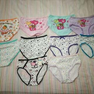女童內褲10件