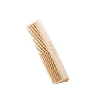 """Sisir Rambut Acca Kappa Best Quality Natura Beechwood Collection Coarse Fine Tooth Comb 7"""" (82402)"""