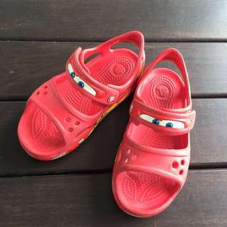 Crocs Sandals - Lightning McQueen