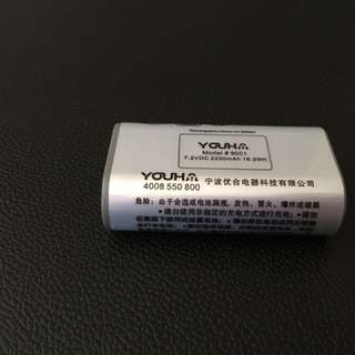 Youha Rechargeable Battery for model YH8004/8005