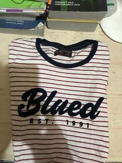 Blued stripes shirt