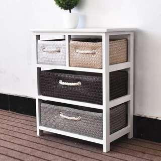 Basket Drawer 4 Drawer Furniture