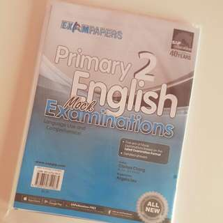 Primary 2 English Mock Exam Papers