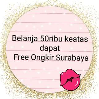 Free Ongkir Promo Feb-Mar 2018