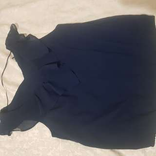 Blouse dark blue