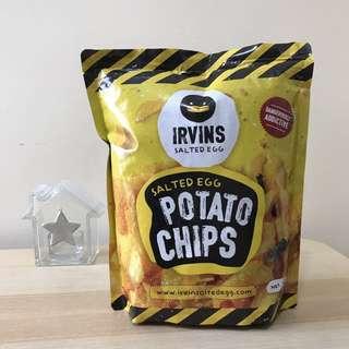 IRVINS 鹹蛋薯片 大包 Salted Egg Potato Chips (Big)
