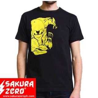 Shingeki no kyojin Armored Titan Anime Black  shirt