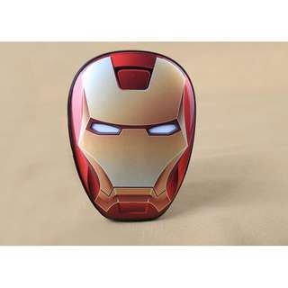 Avengers Iron Man Face 12000 mah Power Bank