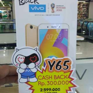 VIVO Y65 ( Cash or Credit )