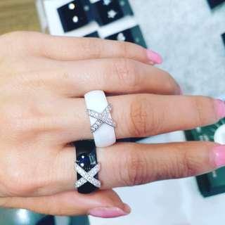 陶瓷閃石戒指