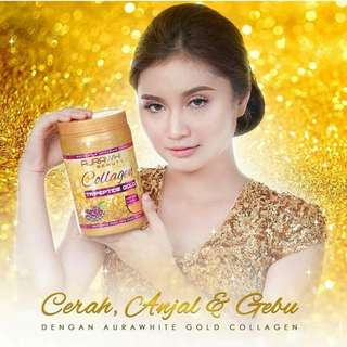 [Instock] Aura White Collagen Tripeptide Gold