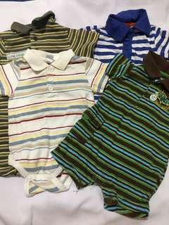 Polo romper bundle