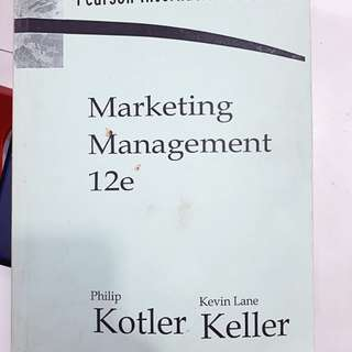 SP_PRELOVED : marketing management 12e fotokopi