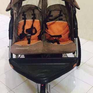 Twin Double Jogging Stroller