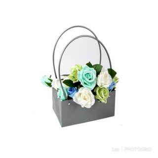PVC Flower Basket/Bag