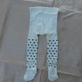 Legging stocking putih