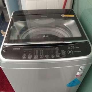 Lg 9kg washing machine and inverter