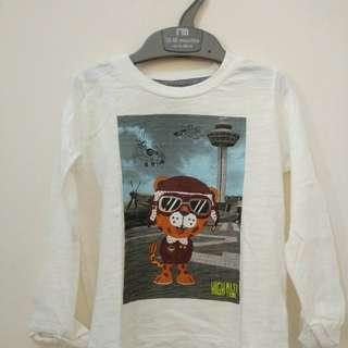 mothercare tiger Tshirt