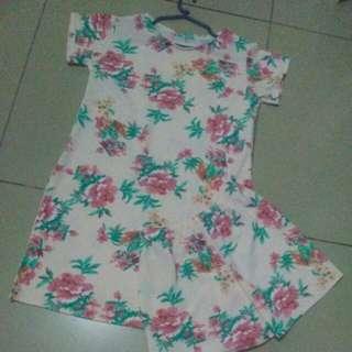 Dress w/short large