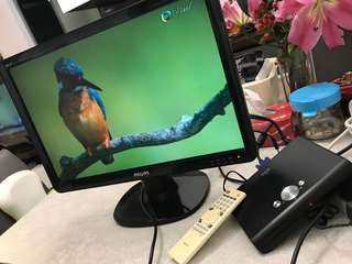 HDTV ste-top box (HDMI or VGA)