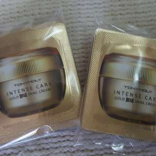 Tony Moly Gold 24K Snail Cream Sachet