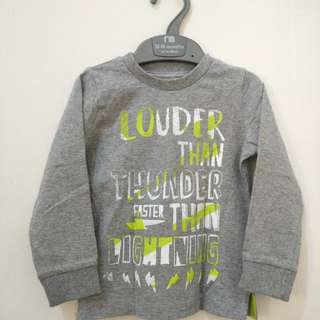 mothercare louder than tunder Tshirt