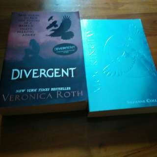 Divergent and mockingjay