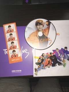JBJ true colors II-I ver  相均 CD 手印 貼紙+玄彬/太鉉 立牌「選一」 set放 $140 價可議