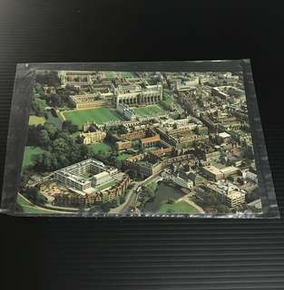 Queens' & King's Colleges Cambridge Postcard / Post Card / 明信片