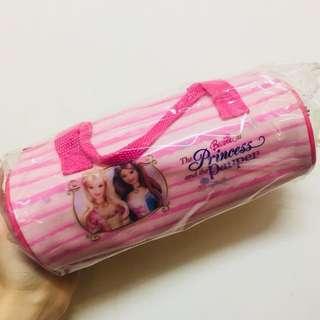 芭比粉色鉛筆盒