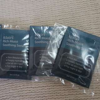 KLAIRS Rich Moist Soothing Serum Sachet