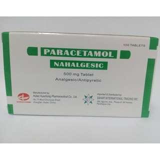 Paracetamol 500mgx 100 tablets