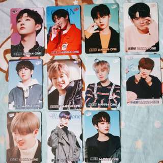 WANNA ONE YES! CARD (whole set)