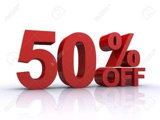 50%%%% off!!