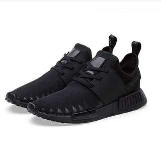 Adidas X Neighbourhood Hong Kong Pop Up NMD Triple Black