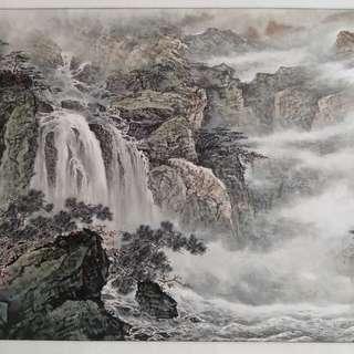 Chinese Painting 名家字画 山水画 花鸟画 中国画 收藏 增值 投资 。