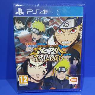 Naruto Shippuden Storm Trilogy