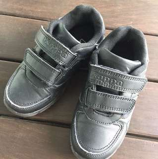 Kids Black School Shoes - Kappa