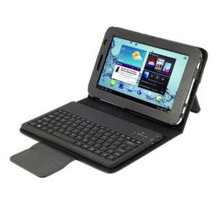Samsung Galaxy tab 2 P3100 P6200 bluetooth keyboard case