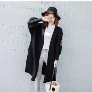 Instock - Long Knit Jacket