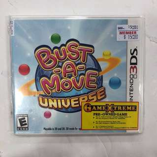 Nintendo 3DS Preowned Bust A Move