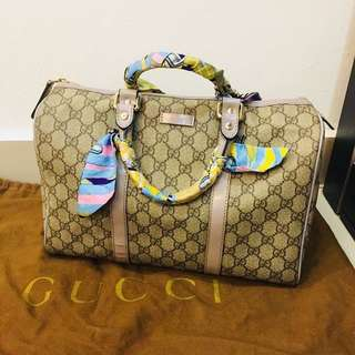 Price reduced%Authentic Gucci Bowling Bag