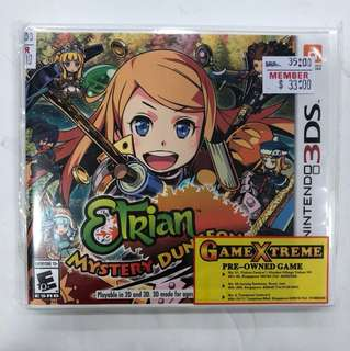 Nintendo 3DS Preowned Etrain Mystery Dungeon