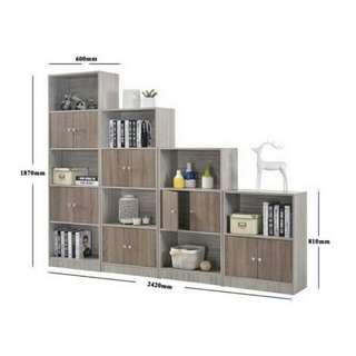 2/3/4/5 Tier Display Shelf / Storsge Cabinet/ Bookshelf.👌👌👌