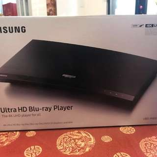 全新型號 Samsung Ultra HD Blu-ray Player M8500