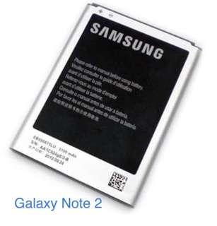 Samsung Galaxy Note 2 Battery Class A