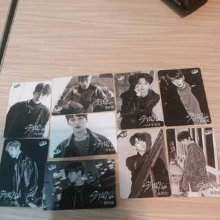 Stray Kids 31期白卡 yes cards